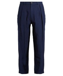 Blue Blue Japan | Straight-Leg Linen Trousers