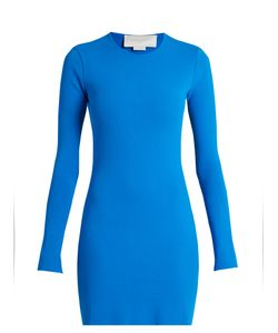 Esteban Cortazar | Cut-Out Back Crepe-Knit Dress