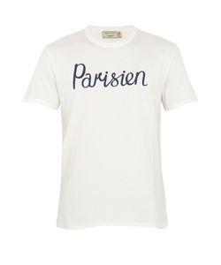 Maison Kitsuné | Parisien-Print Cotton T-Shirt