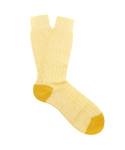 PANTHERELLA | Hamada Ribbed-Knit Socks