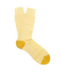 PANTHERELLA | Hamada Ribbed-Knit Socks