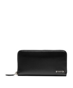 Tod's | Logo-Embossed Zip-Around Leather Wallet
