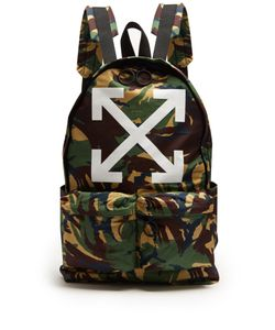 Off-White | Arrows Cotton Backpack