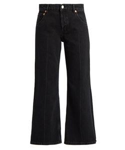 Balenciaga | Contrast-Panel Straight-Leg Jeans