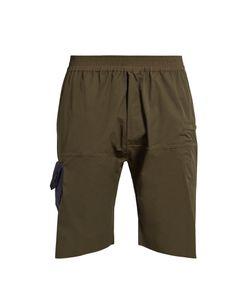 Longjourney | Hangar Patch-Pocket Cotton Shorts