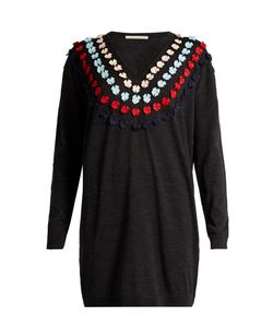 Marco de Vincenzo | Bow-Embellished Wool Sweater