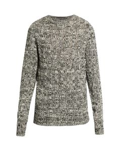 Denis Colomb | Crew-Neck Open-Weave Sweater