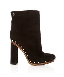 Proenza Schouler | Stud-Embellished Suede Ankle Boots