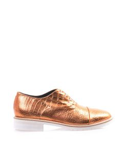 Amélie Pichard | Coco Metallic Leather Brogues