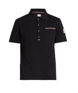 Moncler Gamme Bleu | Patch-Pocket Cotton Polo Shirt