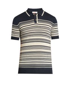 Orley | Brooks Striped Polo Shirt
