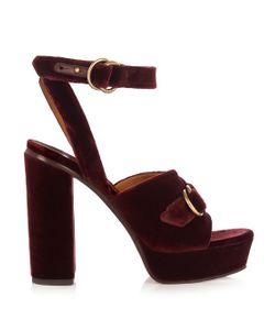 Chloé | Kingsley Velvet Sandals