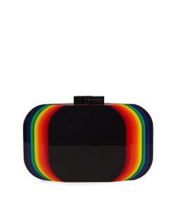 Sarah's Bag | Aura Rainbow Perspex Clutch