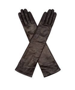 Agnelle | Opera Long Leather Gloves