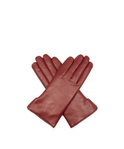 Agnelle | Rabbit-Fur And Leather Gloves