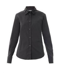 Lareida   Anina Embellished Collar Shirt