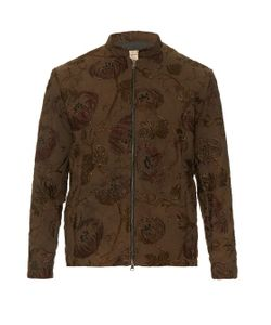 By Walid | Classic Embroidered Canvas Jacket