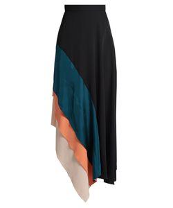 Roksanda | Delma Contrast-Panel Fluted Silk Skirt