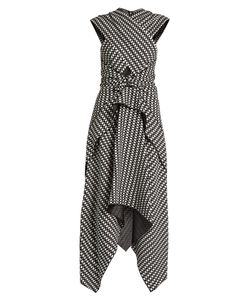 Proenza Schouler | Cross-Front Crepe Dress