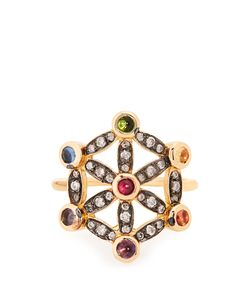 Noor Fares | Diamond Multi-Stone Pinky Ring