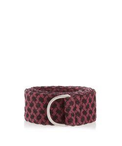 Cecilie Copenhagen   Scarf-Jacquard Cotton Belt