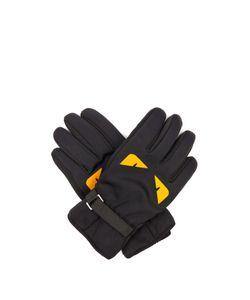 Fendi   Bag Bugs-Print Gloves