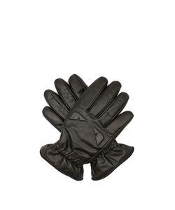 Fendi   Bag Bugs-Embossed Leather Gloves