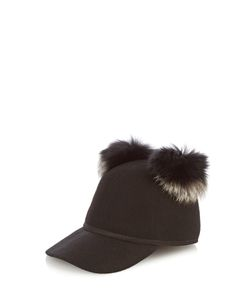Charlotte Simone | Sass Wool And Fox-Fur Cap