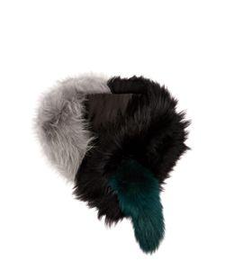 Charlotte Simone | Popsicle Raccoon And Fox-Fur Scarf