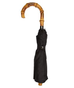 LONDON UNDERCOVER | Whangee-Handle Telescopic Umbrella