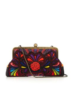 Sarah's Bag | Sunshine Bead-Embellished Clutch