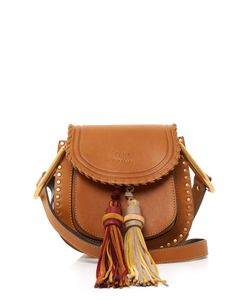 Chloé | Hudson Small Suede-Tassel Leather Cross-Body Bag