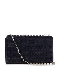 Tomasini   Etc050 Suede Shoulder Bag