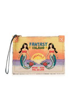 Sarah's Bag | Fantasy Island Bead-Embellished Pouch