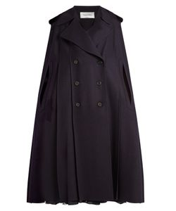 Valentino | Double-Breasted Felt Cape