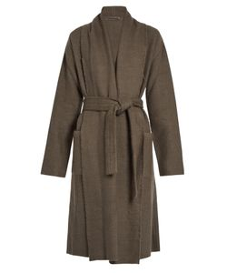 Denis Colomb | Raw-Edge Cashmere And Camel-Blend Coat