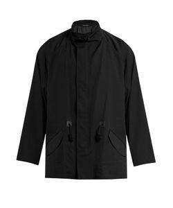 Yohji Yamamoto | Detachable-Scarf Wool Overcoat