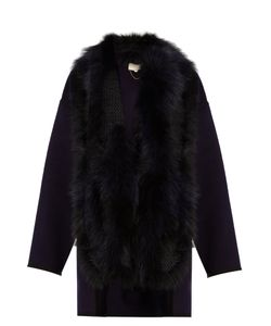 Vanessa Bruno | Feuillantine Detachable-Fur Coat