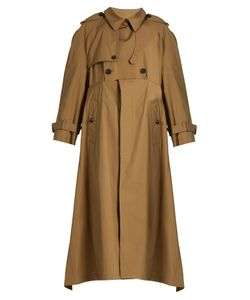Balenciaga | Double-Breasted Cotton-Gabardine Trench Coat