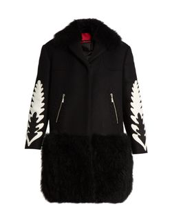 Moncler Gamme Rouge | Katie Shearling-Trim Wool And Cashmere-Blend Coat