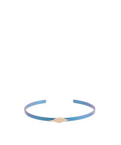 Diane Kordas | Diamond Rose-Gold Titanium Kite Cuff