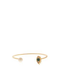 Delfina Delettrez | Diamond Sapphire Pearl Yellowcuff