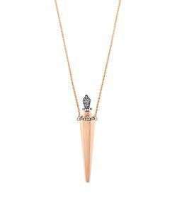 Diane Kordas | Diamond Roseamulette Necklace