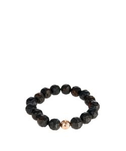 Luis Morais | Rose-Gold And Ebony-Bead Bracelet