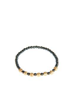 Luis Morais | Yellow-Gold And Hematite Bead Bracelet