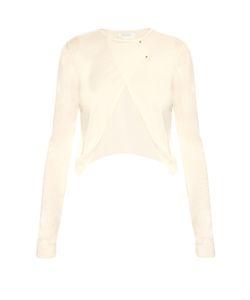 Esteban Cortazar   Wool Silk And Cashmere-Knit Cardigan