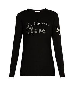 Bella Freud   Je Taime Jane Merino-Wool Sweater