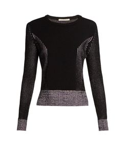 Marco de Vincenzo | Long-Sleeved Ribbed-Knit Sweater