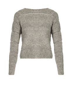See by Chloé | Round-Neck Looped-Knit Sweater