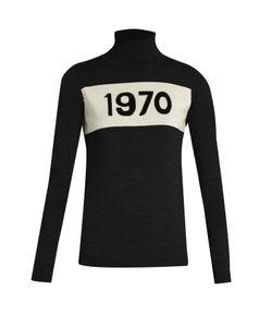 Bella Freud   Roll-Neck 1970 Wool Sweater